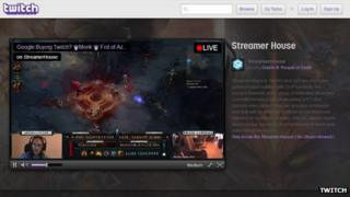 Twitch screen