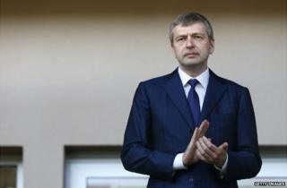 Dmitri Rybolovlev applauds during an AS Monaco match against Caen - 4 May 2013