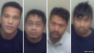 Mohammad Islam, Murshed Miah, Abdul Hannan, Rashad Miah