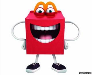 McDonald's new mascot Happy