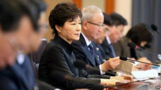 File photo: South Korean President Park Geun-hye