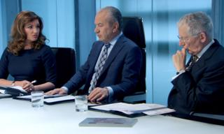 Alan Sugar (c) on The Apprentice
