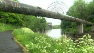 The attack happened on the Lagan Towpath in Lisburn