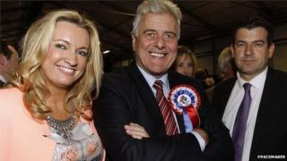 Jim Nicholson, UUP, at the count