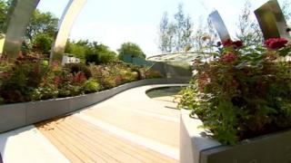 The council's 2014 garden