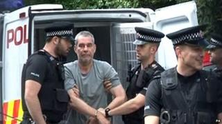 Michael Wheatley outside court on 9 May