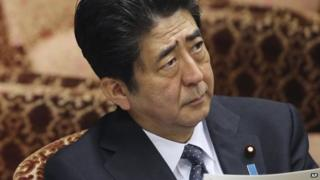 File photo: Shinzo Abe