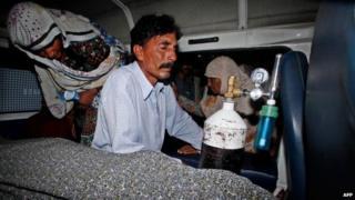 Muhammad Iqbal, husband of murder victim Farzana Parveen