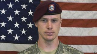 An undated image of US Army Sgt Bowe Bergdahl