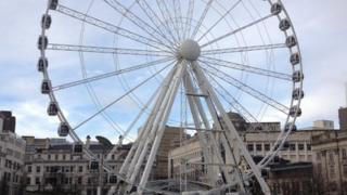Big wheel in Manchester