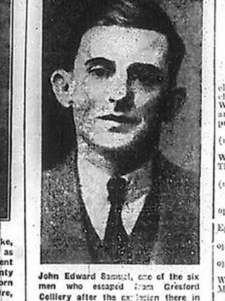 Wrexham Leader story about John Edward Samuels