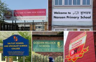 Composite of five inadequate schools
