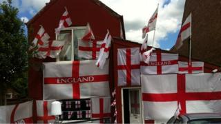 England fan, Whittlesey