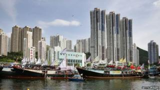 Hong Kong is an economic powerhouse in Asia