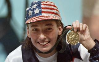 Amy Van Dyken in 1996