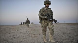 British troops