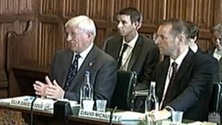 David Hodge, left, and David McNulty