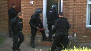 Drugs raid in Tunbridge Wells