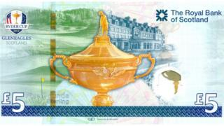 ryder cup bank note back