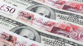 Pounds and dollars