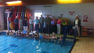 Narberth pool and its supporters