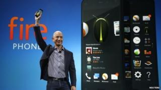 Jeff Bezos launches Fire phone