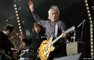 Paul Weller at Hard Rock Calling Day 1 at the Queen Elizabeth Olympic Park on 29 June 29 2013