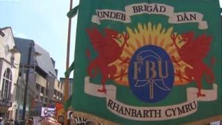 Fire brigade banner