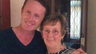 Victor McDermott with mother Madeleine