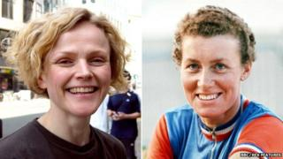 Maxine Peake (left) and Beryl Burton