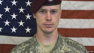 US Army Sergeant Bowe Bergdahl in undated handout photo provided by the US Army and received by Reuters 31 May 2014