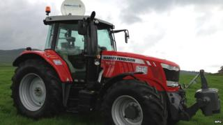 The internet access tractor