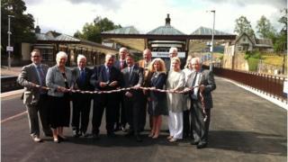 Gleneagles station opening