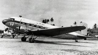 The plane that was hijacked