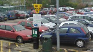 Bus station car park, Hereford