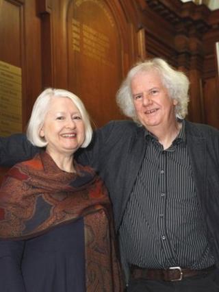 Christine De Luca and Ron Butlin