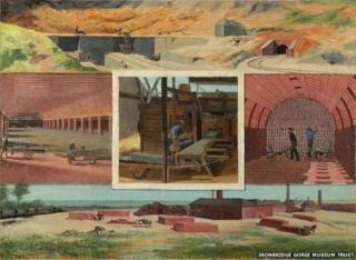 Brickmaking factory