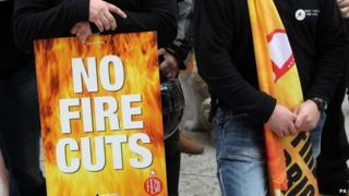 Firefighters' strike