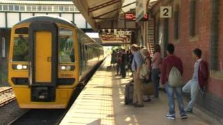 Wrexham station