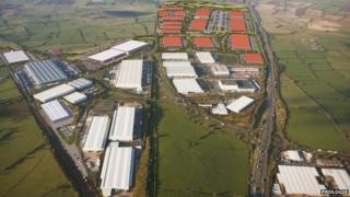 Daventry International Rail Freight Terminal
