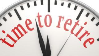 retirement clock