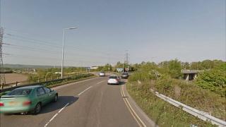 M5 junction for Weston-super-Mare