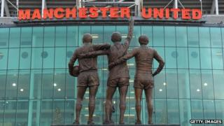 Manchester United's Old Trafford Stadium