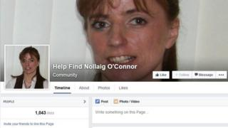 Nollaig O'Connor's family launched a social media campaign to help find her