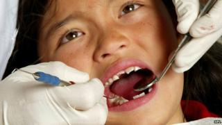 Tooth examination