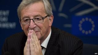 Jean Claude Juncker (file image)