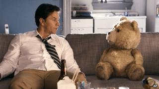 Mark Wahlberg in a scene from Ted