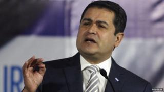 Honduran President Juan Hernandez