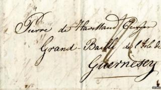 1812 letter