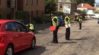 police in morningside